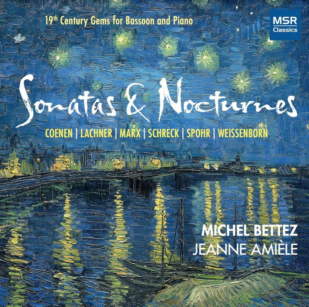 Cover CD Sonatas & Nocturnes